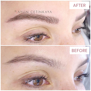 Microblading - Permanent Eyebrow Tattoo, Istanbul, Turkey