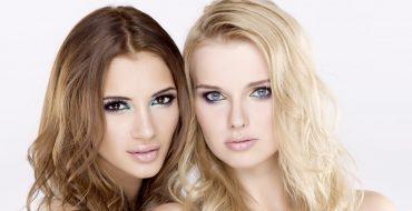 Esmer ve Sarışın Kadınlarda Kalıcı Makyaj